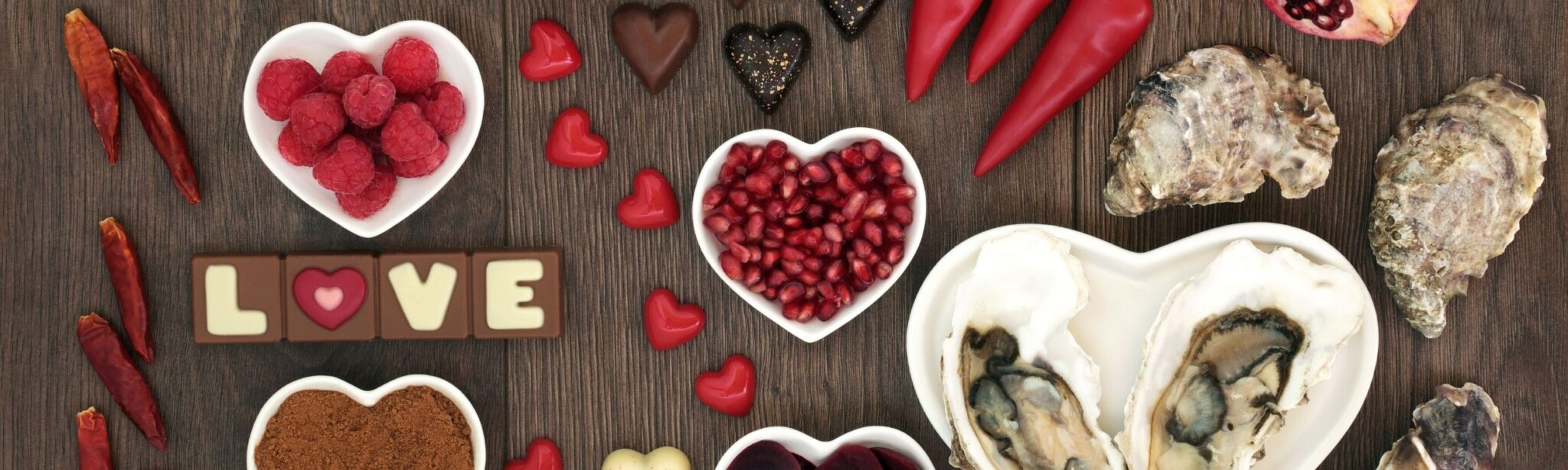 EATING WELL MEANS LOVING WELL: FOUR FOODS THAT INSPIRE A BETTER LOVE LIFE